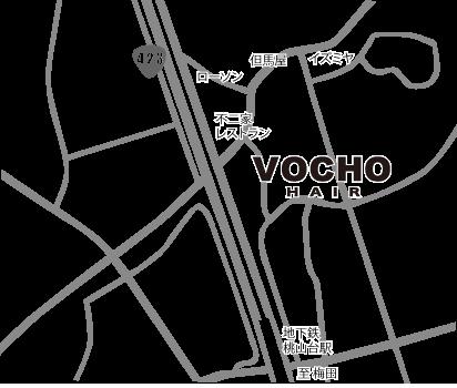 豊中市上新田3-1-9 スタジオ千里102 VOCHO HAIR